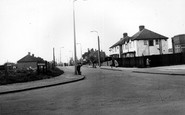 Corringham, Giffords Cross Road c1955