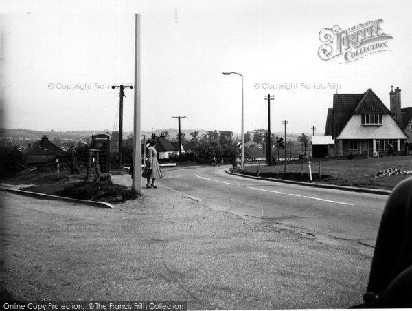Photo of Corringham, Lampits Hill c1955