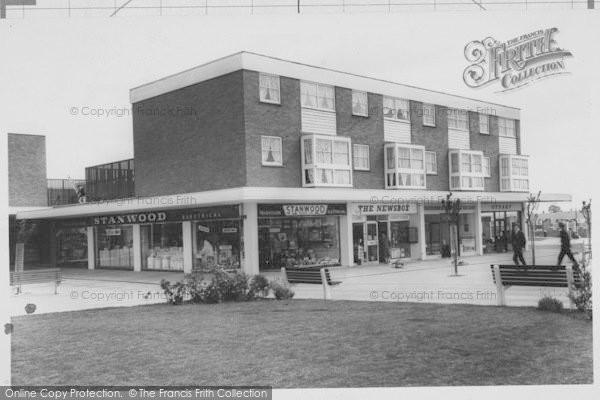 Photo of Corringham, New Town Centre c.1965