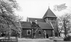 Corringham, St Mary's Church c.1967
