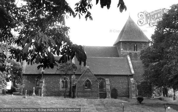Photo of Corringham, St Mary's Parish Church c.1950