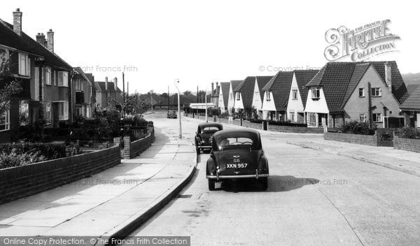 Woodbrooke Way, Corringham, c.1955, Essex.  © Copyright The Francis Frith Collection 2005. http://www.francisfrith.com