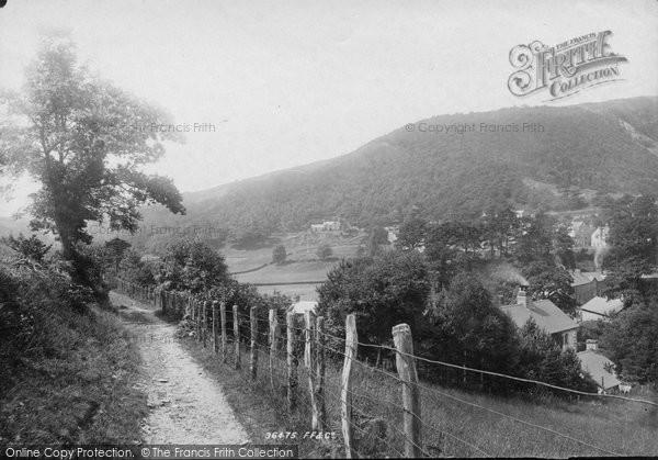 Photo of Corris, 1895