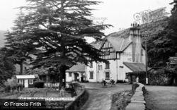Braich Goch Hotel c.1955, Corris