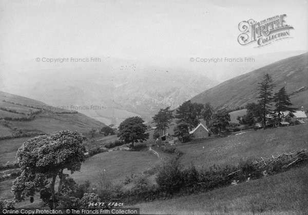 Photo of Corris, Cader Idris From Corris Road 1895