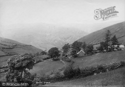 Corris, Cader Idris From Corris Road 1895