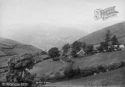 Corris, Cader Idris From Corris Road 1895