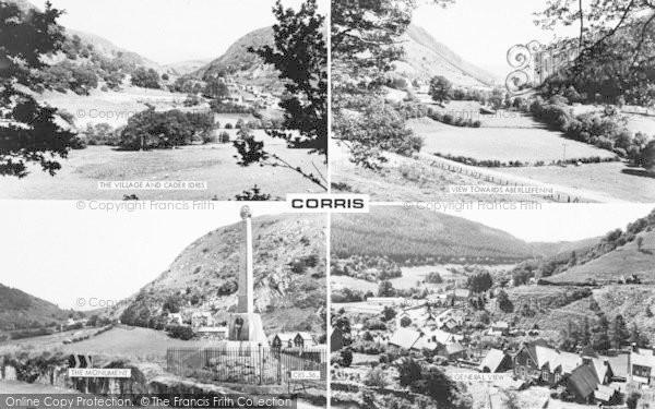 Photo of Corris, Composite c.1960