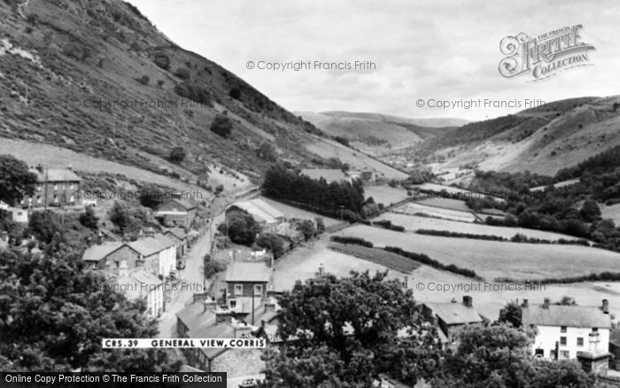 Photo of Corris, General View c.1960