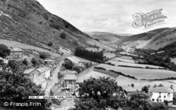 Corris, General View c.1960