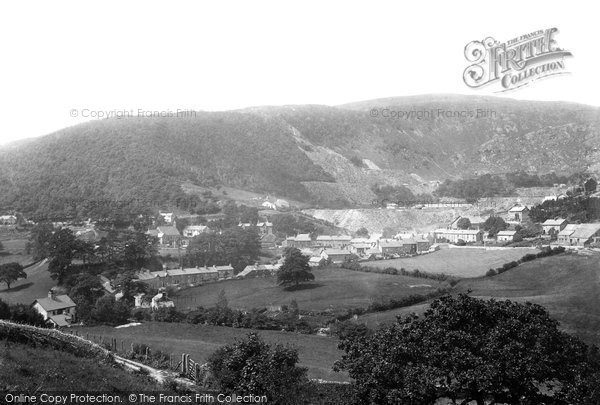 Photo of Corris, The Slate Quarries 1895