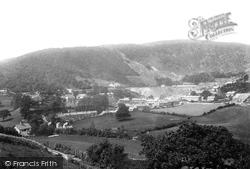 Corris, The Slate Quarries 1895