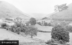 Corris, The Valley c.1955