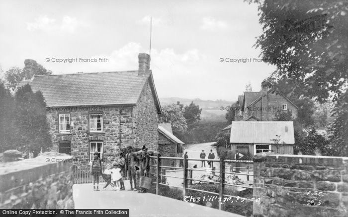 Photo of Corris, The Village c.1960