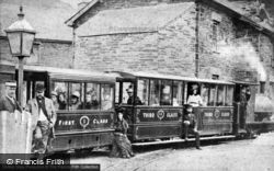 Train In The Station c.1895, Corris