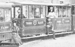 Corris, Train, Third Class Carriage c.1895