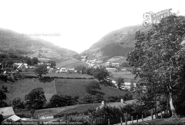 Photo of Corris, Valley 1892