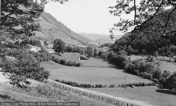 Photo of Corris, View Towards Aberllefenni c.1960