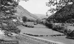 Corris, View Towards Aberllefenni c.1960