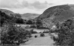 Corris, Village And Cader Idris c.1960