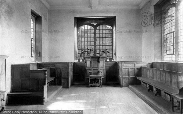 Corsham, Almshouses, The Schoolroom 1907