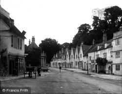 Corsham, Flemish Cottages, High Street c.1900