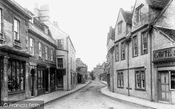 Corsham, High Street 1906