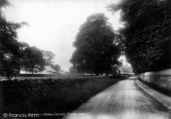 Corsham, Lacock Road 1904