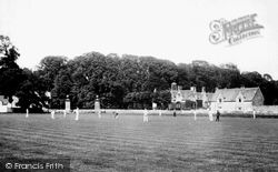 Corsham, The Cricket Match 1904