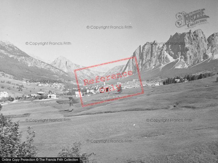 Photo of Cortina, General View 1938