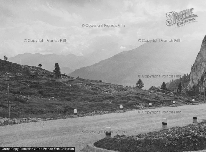 Photo of Cortina, Mountain Road 1938