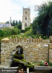 St Andrew's Church c.1990, Corton Denham