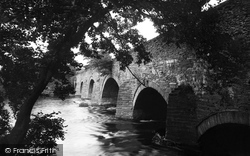 Corwen, Bridge c.1950