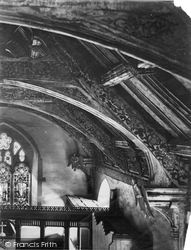 Corwen, Church Celing 1888