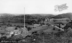 Corwen, Flagstaff Hill c.1960
