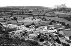 Corwen, From Flagstaff Hill c.1960
