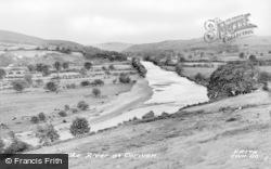 Corwen, River Dee c.1955