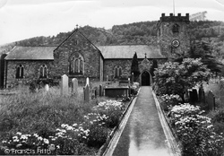 Corwen, St Mael And St Sulien Church c.1965