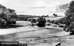 Corwen, The River Dee c.1955