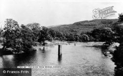 The River From Bridge c.1965, Corwen