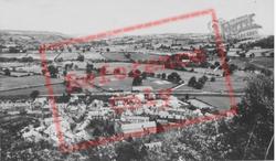 Corwen, Village  c.1955