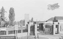 Cosford, RAF Cosford, Main Entrance c.1965