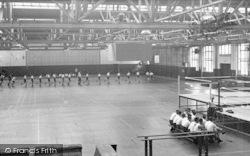Cosford, The Gymnasium, R.A.F Cosford c.1960