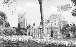 Cosgrove, Cottages And Parish Church c.1935