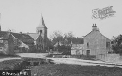 Cotherstone, Church And Bridge 1898