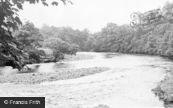 Cotherstone, Meeting Of The Rivers Balder And Tees c.1955