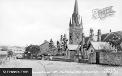 Cotherstone, St Cuthbert's Church c.1950