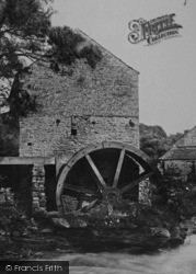 Cotherstone, Tees Mill The Water Wheel 1892