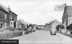 Cotherstone, The Main Street And Post Office c.1935