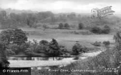 The River Tees c.1955, Cotherstone